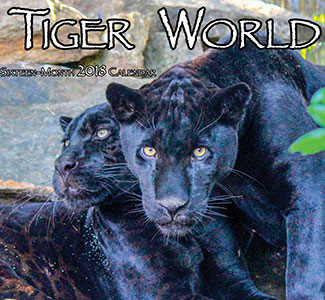 The 2018 Tiger World Calendar is here!